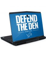 Detroit Lions Team Motto Dell Alienware Skin