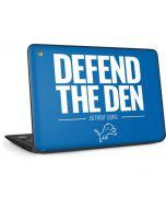 Detroit Lions Team Motto HP Chromebook Skin