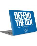 Detroit Lions Team Motto Apple MacBook Air Skin