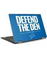 Detroit Lions Team Motto Dell XPS Skin