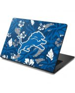 Detroit Lions Tropical Print Dell Chromebook Skin