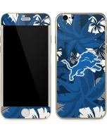 Detroit Lions Tropical Print iPhone 6/6s Skin