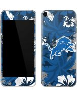 Detroit Lions Tropical Print Apple iPod Skin
