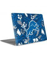 Detroit Lions Tropical Print Apple MacBook Air Skin