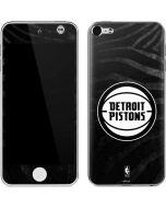 Detroit Pistons Black Animal Print Apple iPod Skin