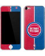 Detroit Pistons Canvas Apple iPod Skin