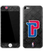Detroit Pistons Dark Rust Apple iPod Skin