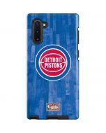 Detroit Pistons Hardwood Classics Galaxy Note 10 Pro Case