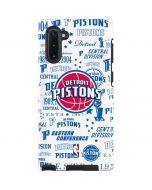 Detroit Pistons Historic Blast Galaxy Note 10 Pro Case