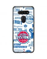 Detroit Pistons Historic Blast LG K51/Q51 Clear Case