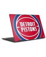 Detroit Pistons Large Logo HP Envy Skin