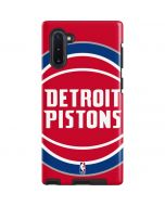 Detroit Pistons Large Logo Galaxy Note 10 Pro Case
