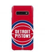 Detroit Pistons Large Logo Galaxy S10 Plus Lite Case