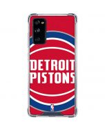 Detroit Pistons Large Logo Galaxy S20 FE Clear Case