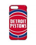 Detroit Pistons Large Logo iPhone 7 Plus Pro Case