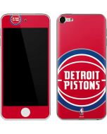 Detroit Pistons Large Logo Apple iPod Skin