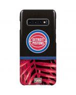 Detroit Pistons Retro Palms Galaxy S10 Plus Lite Case
