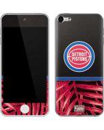 Detroit Pistons Retro Palms Apple iPod Skin