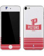 Detroit Pistons Static Apple iPod Skin