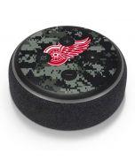 Detroit Red Wings Camo Amazon Echo Dot Skin