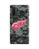 Detroit Red Wings Camo Galaxy Note 10 Pro Case