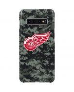 Detroit Red Wings Camo Galaxy S10 Plus Lite Case