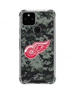 Detroit Red Wings Camo Google Pixel 5 Clear Case