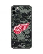Detroit Red Wings Camo iPhone 11 Pro Max Skin