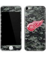 Detroit Red Wings Camo Apple iPod Skin