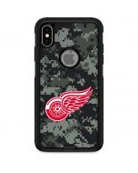 Detroit Red Wings Camo Otterbox Commuter iPhone Skin