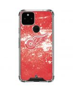 Detroit Red Wings Frozen Google Pixel 5 Clear Case