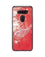 Detroit Red Wings Frozen LG K51/Q51 Clear Case