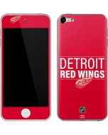 Detroit Red Wings Lineup Apple iPod Skin