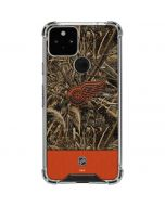 Detroit Red Wings Realtree Max-5 Camo Google Pixel 5 Clear Case