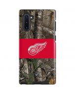 Detroit Red Wings Realtree Xtra Camo Galaxy Note 10 Pro Case