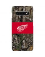 Detroit Red Wings Realtree Xtra Camo Galaxy S10 Plus Lite Case