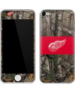 Detroit Red Wings Realtree Xtra Camo Apple iPod Skin