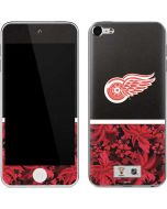 Detroit Red Wings Retro Tropical Print Apple iPod Skin