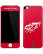Detroit Red Wings Solid Background Apple iPod Skin