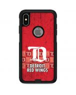 Detroit Red Wings Vintage Otterbox Commuter iPhone Skin