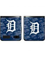 Detroit Tigers - Cap Logo Blast Galaxy Z Flip Skin