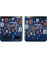 Detroit Tigers - Primary Logo Blast Galaxy Z Flip Skin