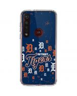 Detroit Tigers - Primary Logo Blast Moto G8 Plus Clear Case