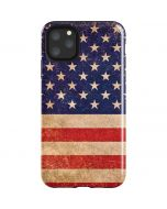 Distressed American Flag iPhone 11 Pro Max Impact Case