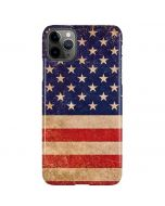 Distressed American Flag iPhone 11 Pro Max Lite Case