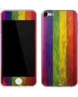 Distressed Rainbow Flag Apple iPod Skin