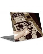 DJ Spinning Apple MacBook Air Skin