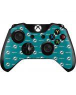 Miami Dolphins Blitz Series Xbox One Controller Skin