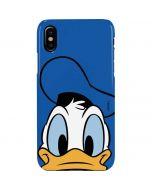 Donald Duck Up Close iPhone XS Max Lite Case