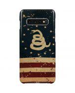 Dont Tread On Me American Flag Galaxy S10 Plus Lite Case